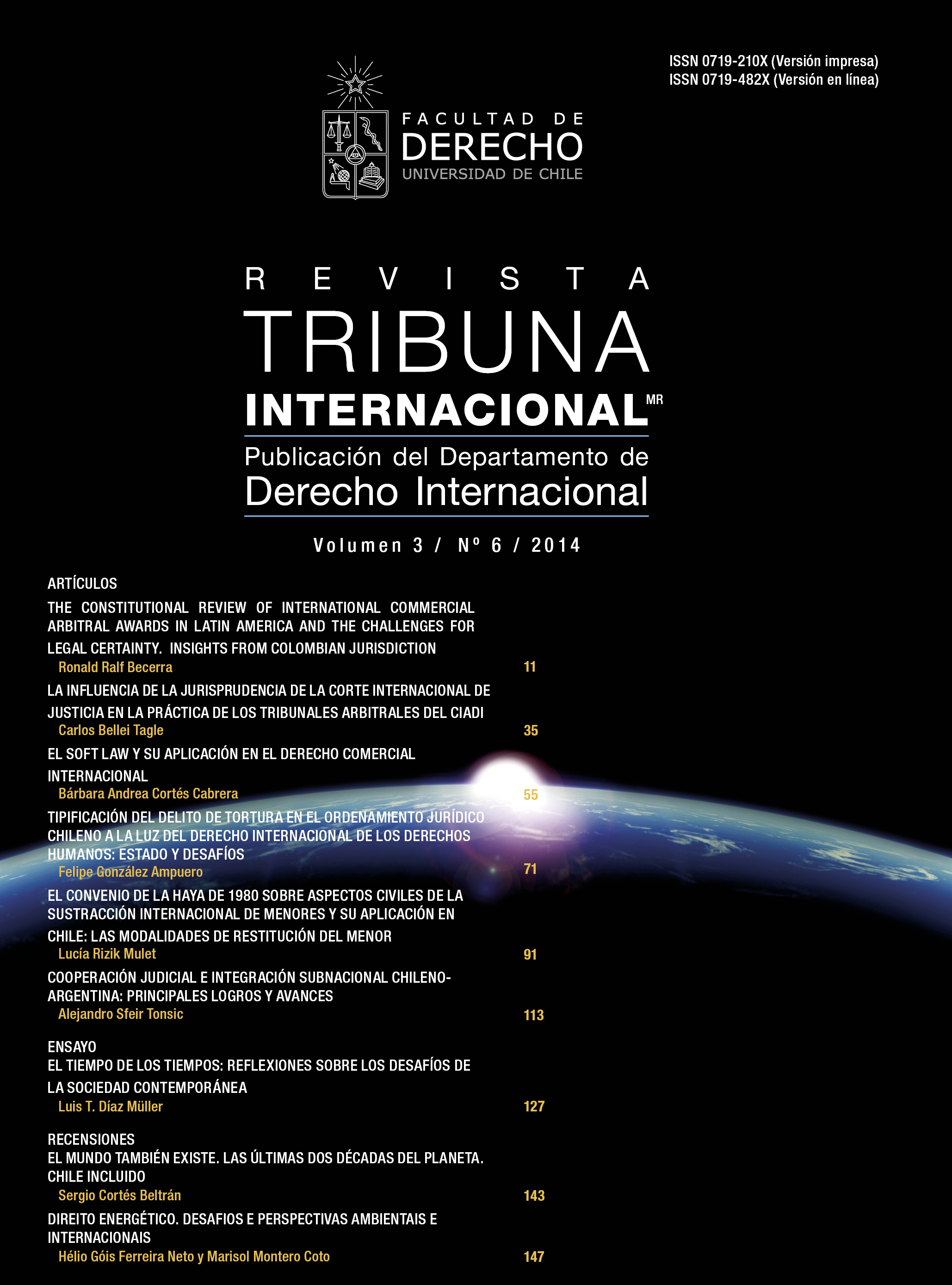 Revista Tribuna Internacional